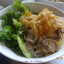 1. Cao Lau - 10 Best Vietnamese Dishes