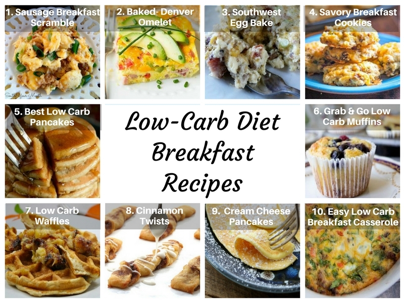 Low-Carb Diet Breakfast Recipes