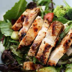 11. Grilled Chicken Salad - TOP 16 DASH Diet Recipes