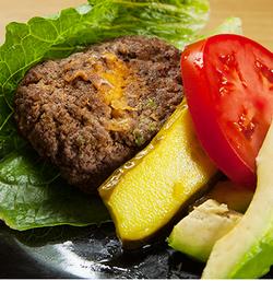 2. Cheddar Stuffed Burgers - 5 Low Carb Keto Grilling Recipes