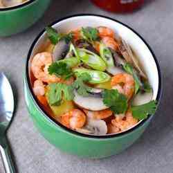 3. Thai Coconut Soup - 10 Quick and Easy Paleo Dishes