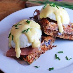 5. Breakfast Cauliflower Waffles - 10 Easy Ketogenic Meals and Recipes