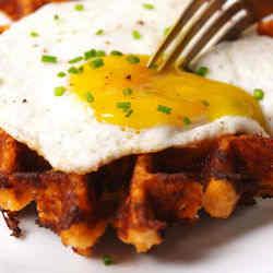 5. Cauliflower Waffles - 9 of My Favorite Healthy Breakfast Recipes