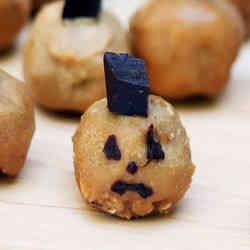 5. Peanut Butter Pumpkins - 10 Spooky Recipes For Healthy Halloween Treats
