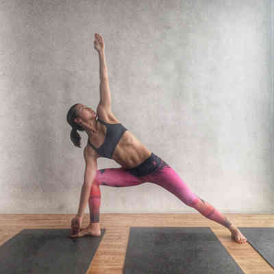 5. Trikonasana pose - 5 Beginner Bikham Yoga Poses