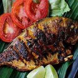 6. Ikan Bakar - Top 20 Balinese Dishes