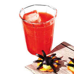 7. Bloody Fizz - 10 Spooky Recipes For Healthy Halloween Treats