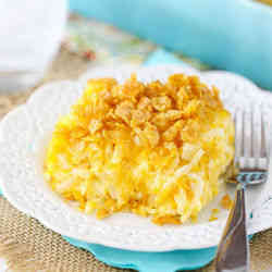 7. Cheesy Hash Brown Casserole - 9 of My Favorite Healthy Breakfast Recipes