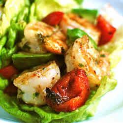 7. Spicy Shrimp Wraps - TOP 16 DASH Diet Recipes
