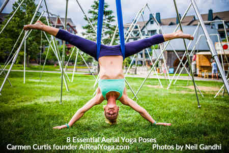 7. Star Inversion - Aerial Yoga Is It Right For You