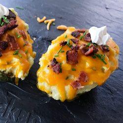 8. Loaded Twice Baked Faux-tato with Cauli & Avocado - 10 Easy Ketogenic Meals and Recipes