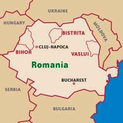 Romania - 4 Countries in 6 Hours