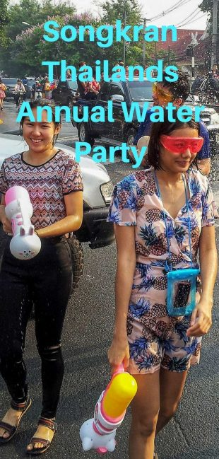 Songkran: Thailand's Annual Water Party
