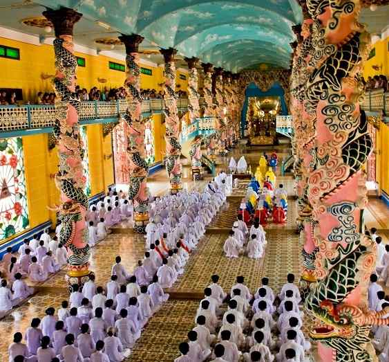 Cao Dai Temple - Top Places In Ho Chi Minh City