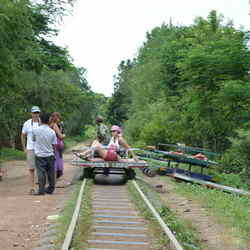 Battambang Bamboo Railway - 9 Must See Sites of Battambang