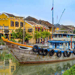 Hoi An Canal and Boats - Hoi An A Well-Preserved Ancient Town
