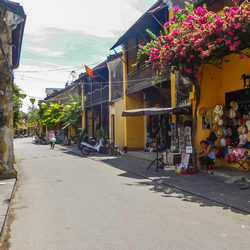 Hoi An Yellow Street - Hoi An A Well-Preserved Ancient Town