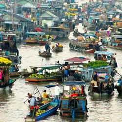 Floating Market - Top Places In Ho Chi Minh City