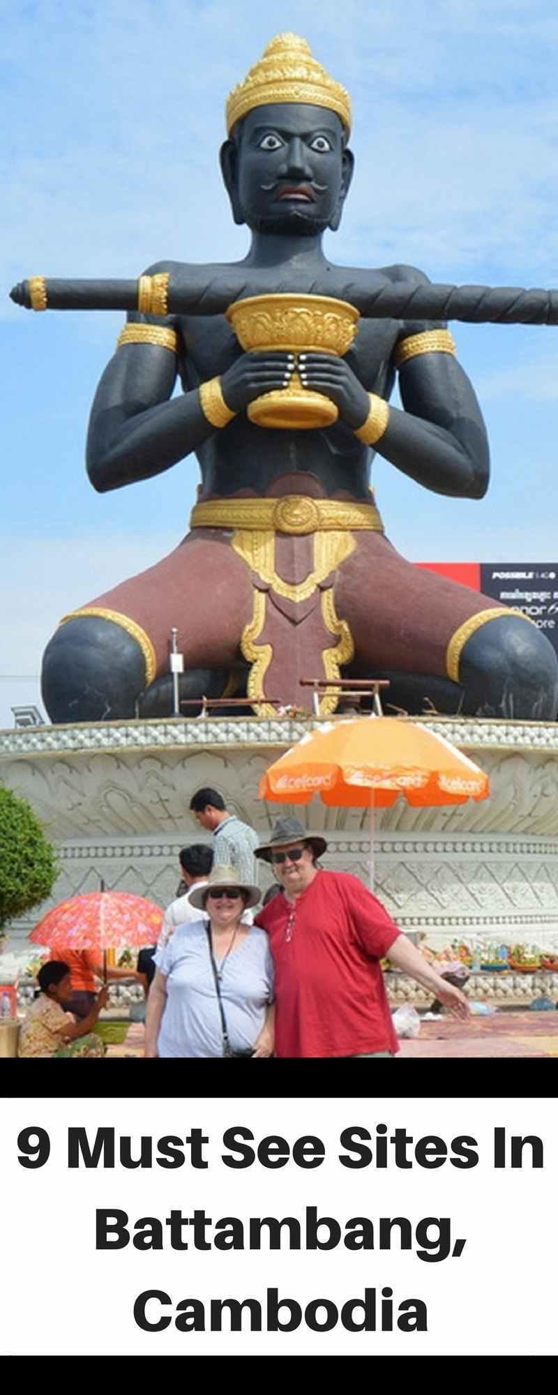 9 Must See Sites of Battambang, Cambodia | Battambang | Cambodia | Siem Reap | SE Asia | SE Asia Packing List | SE Asia Itinerary | SE Asia Packing List | SE Asia Travel | SE Asia Outfits | Travel | ARoadtoTravel.com