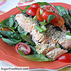 9. Baked Salmon In Foil Pouch - Low-Carb Diet: 10 Tasty Recipes Under 10 Carbs Each
