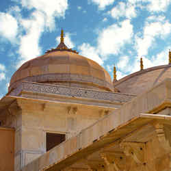 Amber Fort Top - 5 Senses Bombarded by Jaipur India