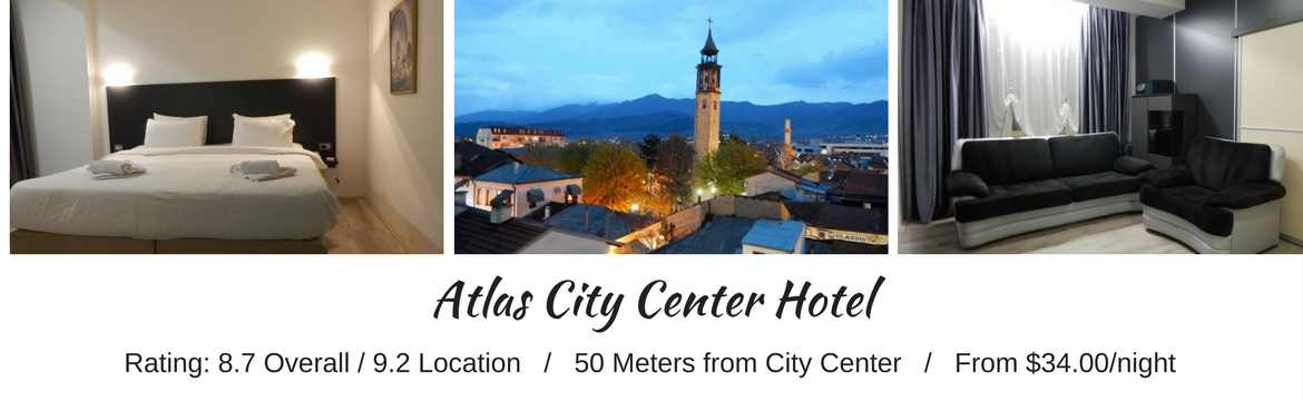 Atlas City Center Hotel, Prilep - Macedonia Travel Spots For Budget Travelers
