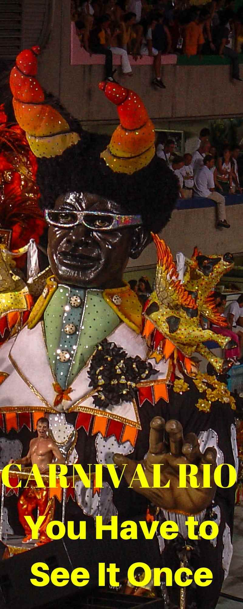 Carnaval Rio - You Have to See It Once | Carnaval World's Biggest Party | Rio de Janeiro | Brazil | Travel Tips | Travel Tips and Tricks | Travel Tips Roadtrip | Travel Tips International | Travel Tips Packing | Travel Tips Planning | Travel Tips Budget | ARoadToTravel.com | Travel