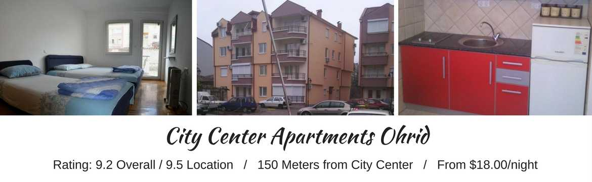 City Center Apartments, Ohrid, Macedonia - Macedonia Travel Spots For Budget Travelers