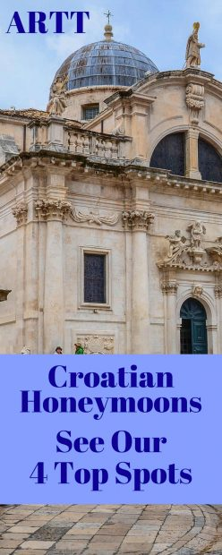 Croatia Honeymoon Spots - 4 Great Croatia Honeymoon Locations