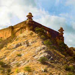 Indias Great Wall - 5 Senses Bombarded by Jaipur India