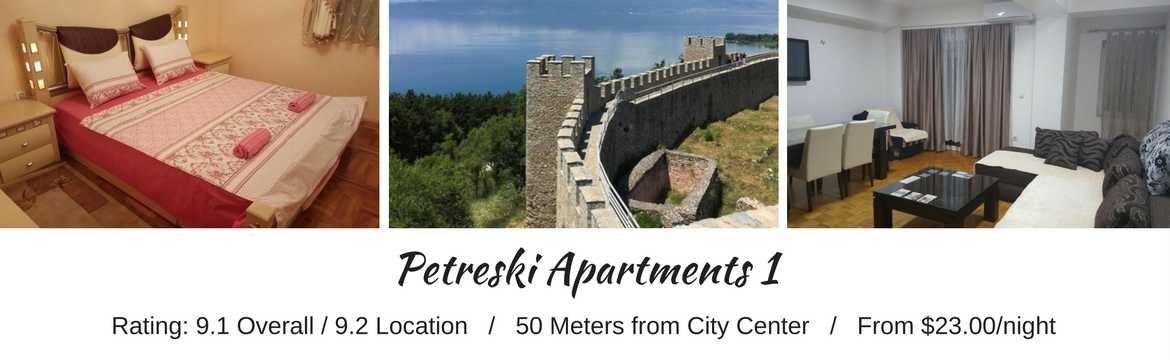 Petreski Apartments 1, Lake Ohrid - Macedonia Travel Spots For Budget Travelers