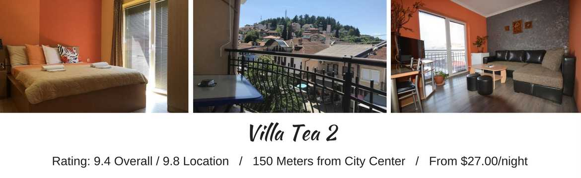 Villa Tea 2, Lake Ohrid - Macedonia Travel Spots For Budget Travelers