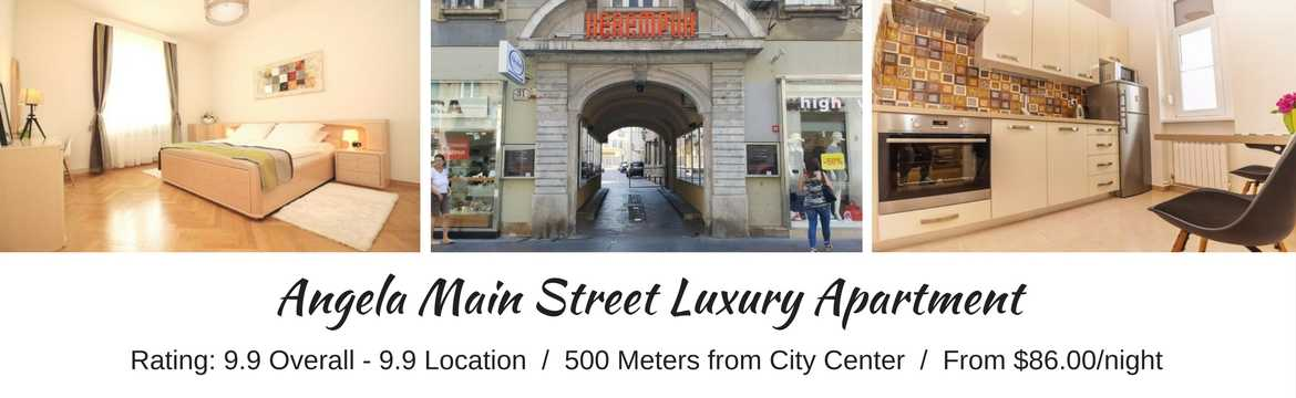 ZAGREB HOTELS - Angela Main Street Luxury Apts