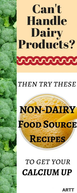 Non-Dairy Food Source Recipes