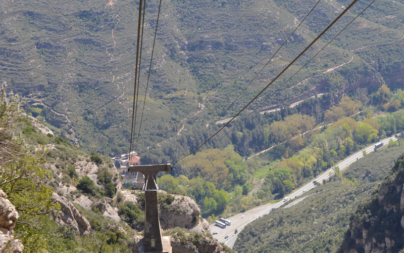 Cable Car - Montserrat Monastery and Black Madonna