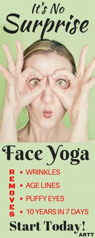 It's No Surprise - Face Yoga